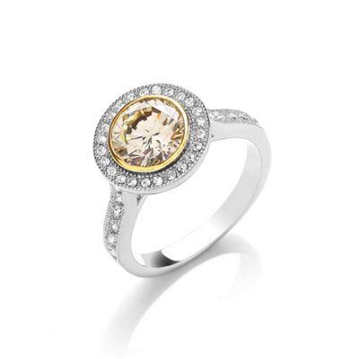 Buckey ondon Cubic zirconia rouette ring - . -