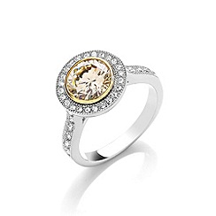Buckley London - Cubic zirconia roulette ring