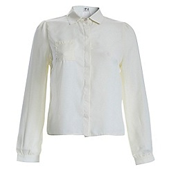 Poppy Lux - Ivory jasmine blouse