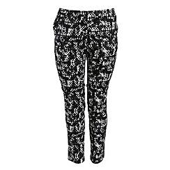 Threads - Black split hem tailored trouser