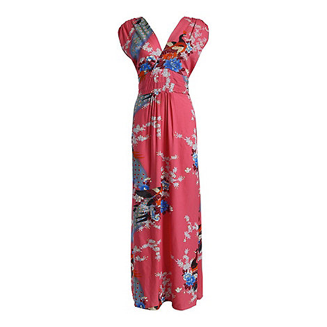 Ruby Rocks - Pink martini maxi dress