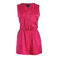 Cutie - Pink bold colour playsuit