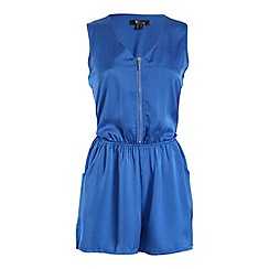 Cutie - Blue bold colour playsuit