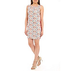 Poppy Lux - Multicoloured camilla floral bodycon dress