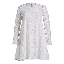 Alice & You - Cream lace swing dress