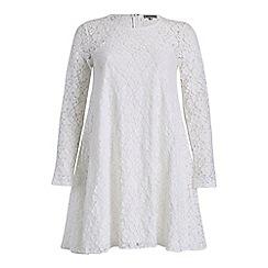 Alice & You - Cream lace swing dress