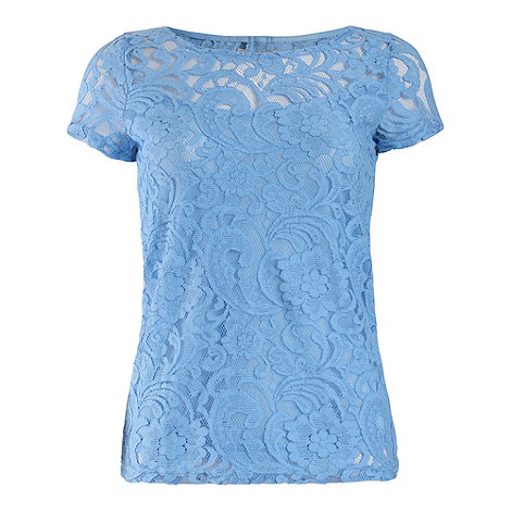 Alice & You - Blue lace layer tee