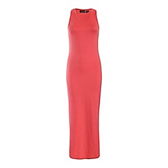 Pussycat London - Pink plain jersey maxi dress