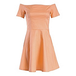 Poppy Lux - Peach jessie dress