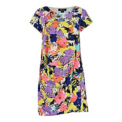 Cutie - Lilac multi colour print dress