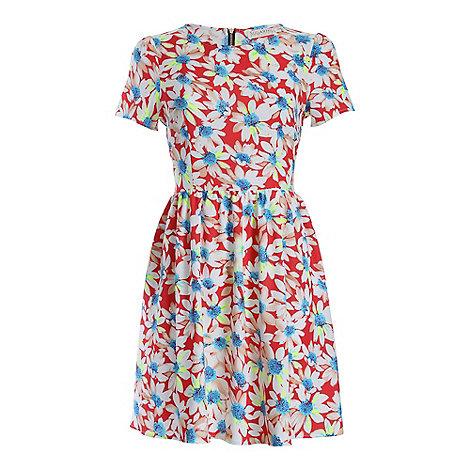 Sugarhill Boutique - Red daisy dress