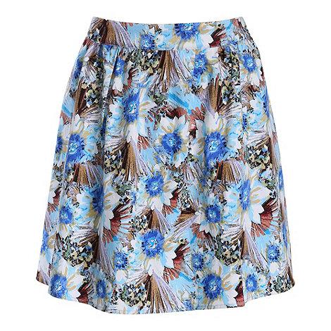 Sugarhill Boutique - Blue gemma skirt