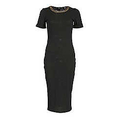 Poppy Lux - Black angie dress