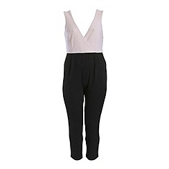 Threads - Black wrap over 2in1 jumpsuit