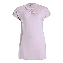 Threads - Light pink cut out tee