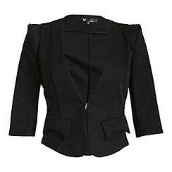 Cutie - Black 3/4 sleeve jacket