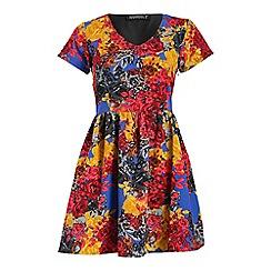 Sugarhill Boutique - Black sugarhill boutique fleur skater dress