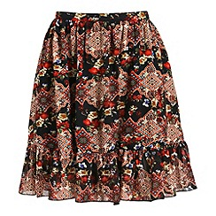 Poppy Lux - Black isla rara skirt