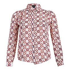 Cutie - Red stars and circles top