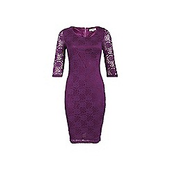 Alice & You - Purple lace layer midi dress