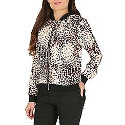 Jumpo London - Multicoloured leopard print jacket