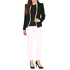 Jumpo London - Black white piping blazer