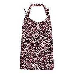 Ayarisa - Multicoloured leila strappy halter drape top