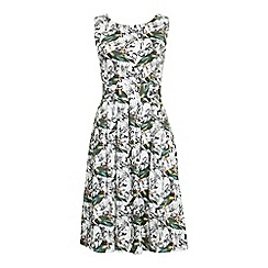 Jolie Moi - Multicoloured floral print 50's  prom dress