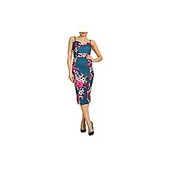 Jolie Moi - Multicoloured floral print bandeau dress