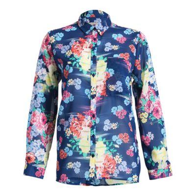 Anmol Blue blouse - . -