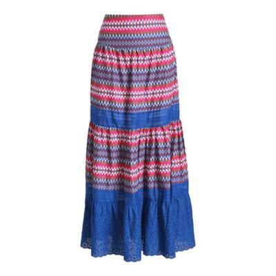 Anmol Multicoloured maxi skirt - . -