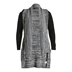 Samya - Multicoloured pocket detail knitted cardigan