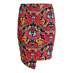 Madam Rage - Multicoloured zip skirt
