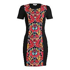 Madam Rage - Multicoloured floral panel dress
