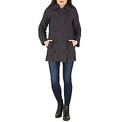 Sugarhill Boutique - Navy becky coat