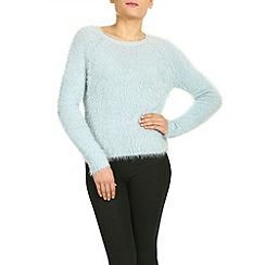 Sugarhill Boutique - Blue fluffy sweater