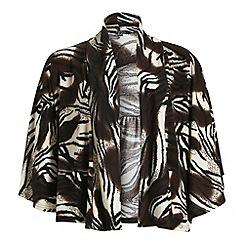 Samya - Multicoloured batwing printed drape cardigan