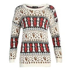 Cutie - Red knitwear jumper