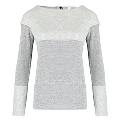 Madam Rage - Grey quilted sweat shirt
