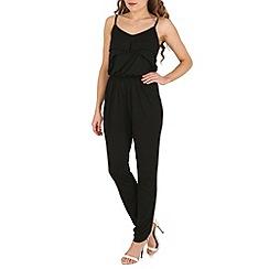 Madam Rage - Black strappy jumpsuit