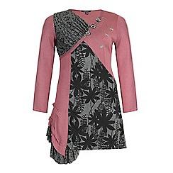 Samya - Pink floral print dress