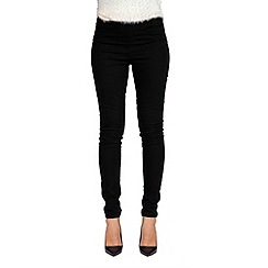 Jailbird - Black julia zip back jegging