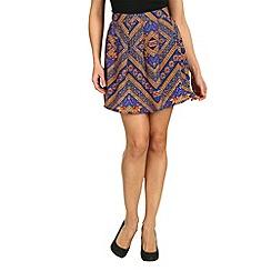 Cutie - Purple floral print skirt
