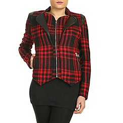 Cutie - Red double layered jacket