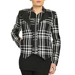 Cutie - Black double layered jacket