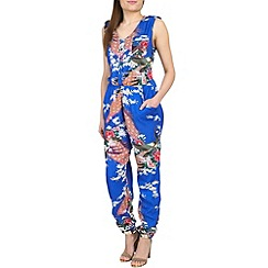 Ruby Rocks - Royal jungle jumpsuit
