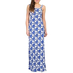 Ruby Rocks - Blue holiday maxi