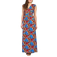 Ruby Rocks - Red martini maxi dress