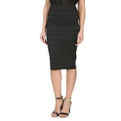 Jumpo London - Black elastic skirt