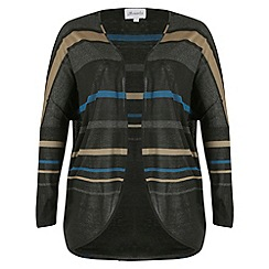Threads - Black cocoon cardigan
